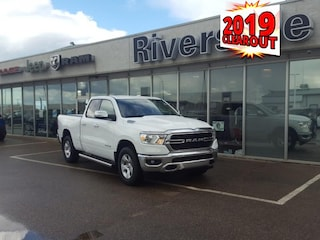 New 2019 Ram 1500 Big Horn - Hemi V8 - $251 B/W Quad Cab for sale in Prince Albert, SK