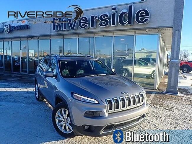 2016 Jeep Cherokee Limited - Leather Seats -  Bluetooth - $167.64 B/W SUV