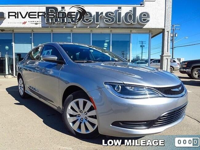 2017 Chrysler 200 LX -  Power Windows - $123.12 B/W Sedan