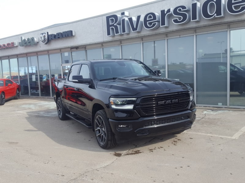 Featured used  2019 Ram 1500 Sport - Hemi V8 - Sunroof - $382 B/W Crew Cab for sale in Prince Albert, SK