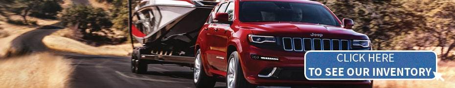 red Jeep Grand Cherokee in Prince Rupert, BC