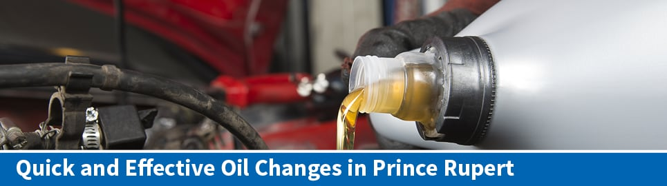 Oil Change in Prince Rupert