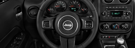 Jeep Patriot Leather interior