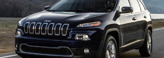 black Jeep Grand Cherokee in Prince Rupert, BC