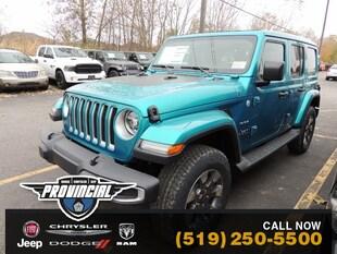 2020 Jeep Wrangler Unlimited Sahara SUV 1C4HJXEG3LW202315 200191