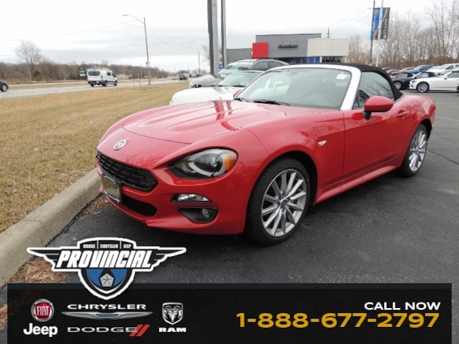 New 2019 FIAT 124 Spider Lusso Convertible JC1NFAEK3K0140774 190157 in Windsor, Ontario near LaSalle