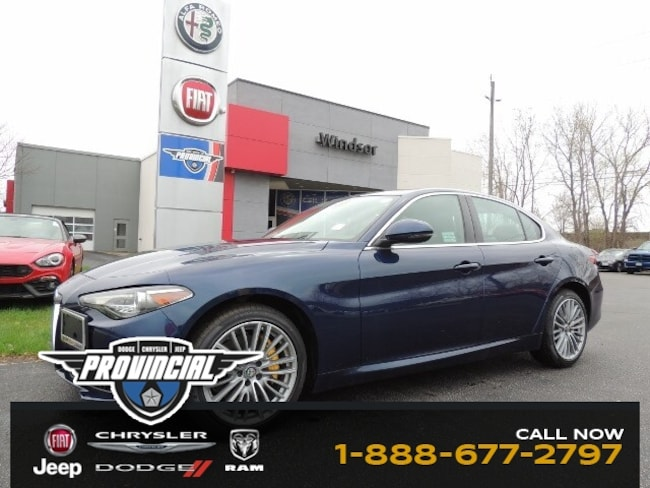 Used 2017 Alfa Romeo Giulia Ti AWD Sedan Sedan in Windsor, Ontario