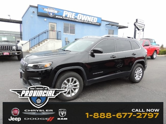 Used 2019 Jeep Cherokee North SUV in Windsor, Ontario