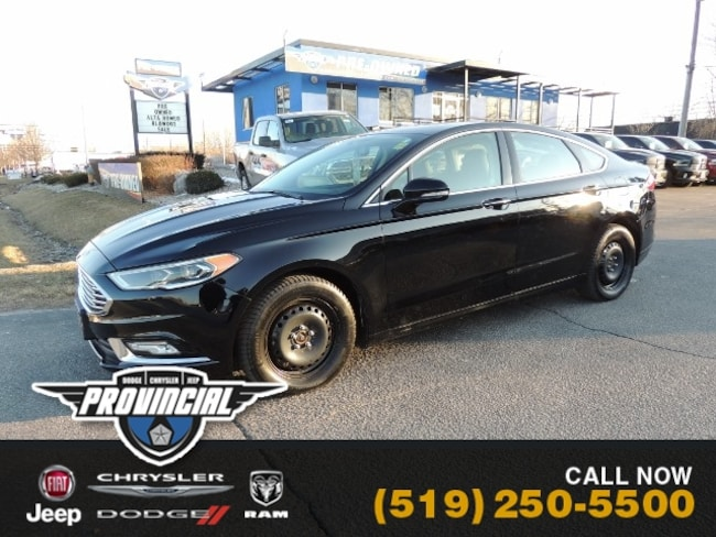 Used 2017 Ford Fusion Platinum Sedan in Windsor, Ontario