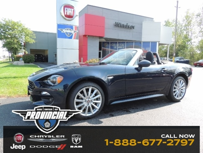 New 2019 FIAT 124 Spider Lusso Convertible JC1NFAEK0K0141090 190167 dealer in Windsor, Ontario - inventory