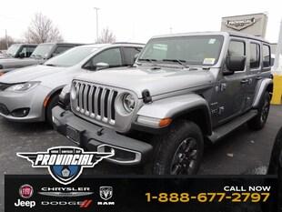 2019 Jeep Wrangler Unlimited Sahara Windsor Jeep Dealer Provincial Chrysler SUV 1C4HJXEG2KW579622 190623