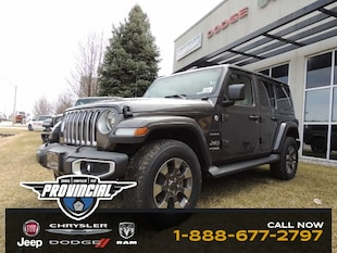 2019 Jeep Wrangler Unlimited Sahara SUV 1C4HJXEG6KW563732 190532