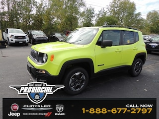New 2018 Jeep Renegade Sport SUV ZACCJBAB0JPH14437 for sale in Windsor, Ontario