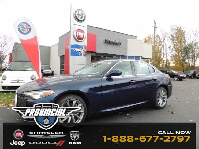 Used 2017 Alfa Romeo Giulia AWD Sedan in Windsor, Ontario