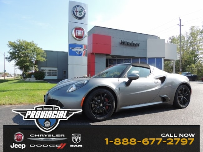 Used Alfa Romeo C For Sale In Windsor ON ZARBAABGM - Used alfa romeo 4c for sale