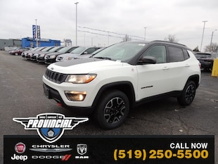 2020 Jeep Compass Trailhawk Windsor Jeep Deals Provincial Chrysler D SUV 3C4NJDDB4LT146902 200231