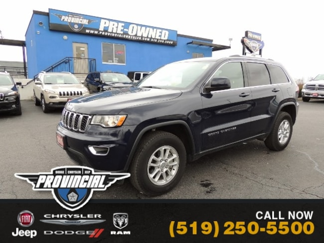 Used 2018 Jeep Grand Cherokee Laredo SUV in Windsor, Ontario