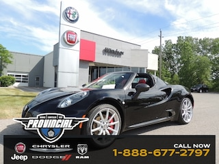 Certified Pre-Owned 2016 Alfa Romeo 4C Spider Pre-owned Best Buy Deal Alfa Romeo Windsor Convertible for sale in Windsor, Ontario