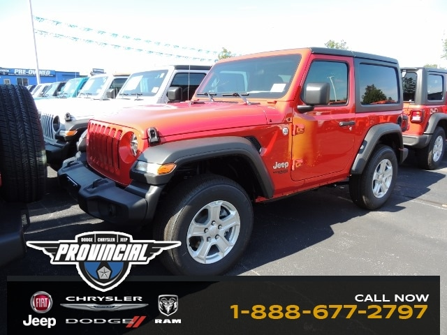 2020 Jeep All-New Wrangler Sport S SUV 1C4GJXANXLW112739 200025
