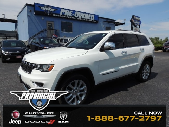 Used 2017 Jeep Grand Cherokee Limited SUV in Windsor, Ontario