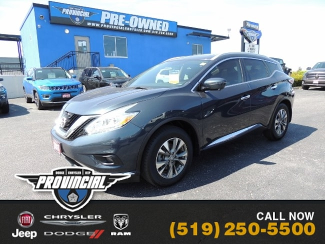 Used 2017 Nissan Murano SL SUV in Windsor, Ontario