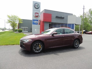 New 2018 Alfa Romeo Giulia Base DEMO DEAL Sedan for sale in Windsor, Ontario