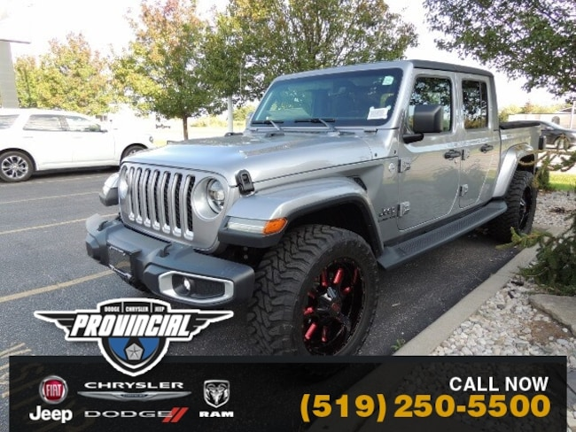 New 2020 Jeep Gladiator Overland Truck Crew Cab 1C6HJTFG8LL117521 200018 in Windsor, Ontario near LaSalle