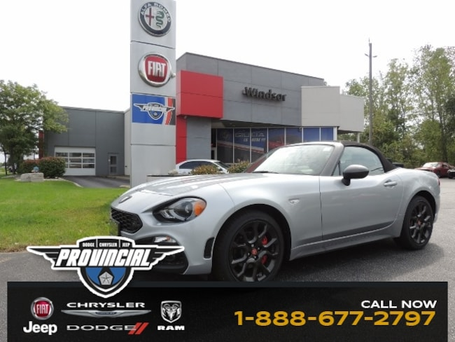 New 2019 Fiat 124 Spider For Sale In Windsor On Jc1nfaekxk0140691