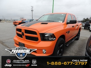 New 2019 Ram 1500 Classic Express Ignition Orange Truck Crew Cab 1C6RR7KT4KS611466 190711 for sale in Windsor, Ontario