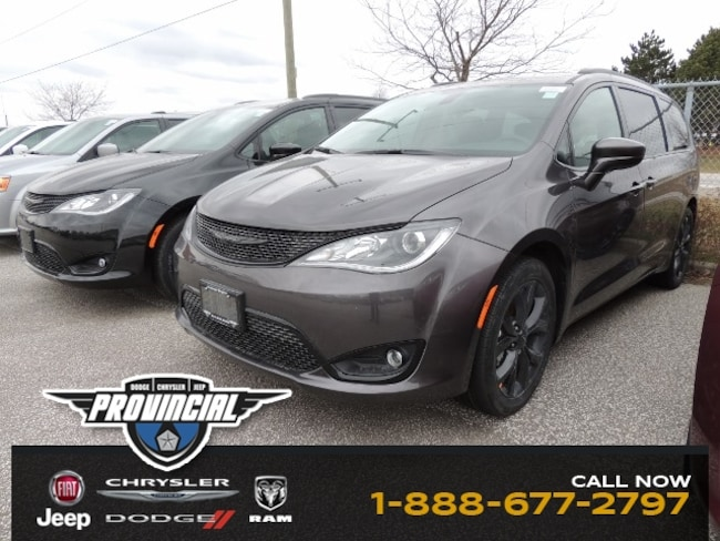 New 2019 Chrysler Pacifica Touring Plus Van 2C4RC1FG0KR581808 190296 in Windsor, Ontario near LaSalle