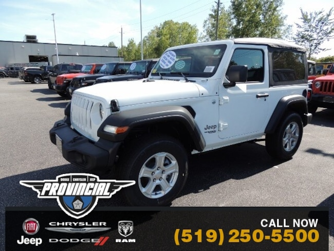 New 2019 Jeep All-New Wrangler Sport S Windsor Best Priced Jeep SUV 1C4GJXAG5KW670627 191376 in Windsor, Ontario near LaSalle