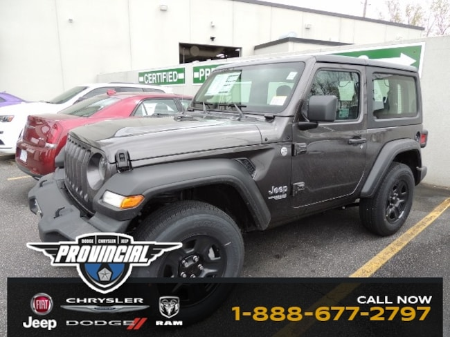 New 2019 Jeep All-New Wrangler Sport SUV 1C4GJXAG8KW640263 190939 in Windsor, Ontario near LaSalle