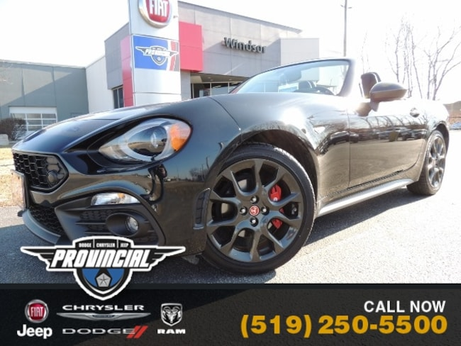 Used 2019 FIAT 124 Spider Abarth Convertible in Windsor, Ontario