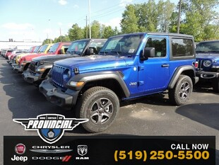 2019 Jeep All-New Wrangler Sport S SUV 1C4GJXAG6KW674458 191193