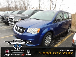 2019 Dodge Grand Caravan Canada Value Package Van 2C4RDGBG6KR642486 190563