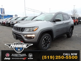 2020 Jeep Compass Trailhawk Windsor Jeep Dealer Provincial Chrysler SUV 3C4NJDDB8LT146899 200169