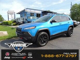 2018 Jeep Cherokee Trailhawk SUV 1C4PJMBB7JD504704
