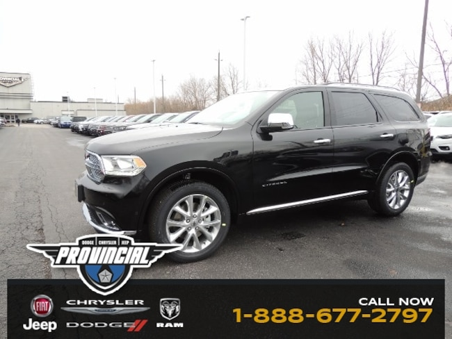 New 2019 Dodge Durango Citadel SUV 1C4SDJET3KC633907 dealer in Windsor, Ontario - inventory