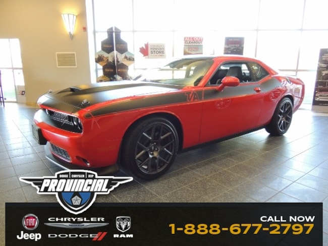 New 2019 Dodge Challenger R/T - T/A Package Coupe 2C3CDZBT5KH605194 190676 in Windsor, Ontario near LaSalle