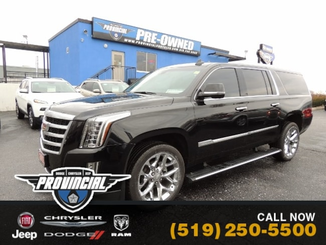 Used 2016 Cadillac Escalade ESV Premium SUV in Windsor, Ontario