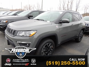 2020 Jeep Compass Trailhawk Best Windsor Jeep Deals Provincial Chrysler Dealer SUV 3C4NJDDB8LT108573 200040