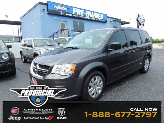 Used 2016 Dodge Grand Caravan 7 Passenger Minivan/Van in Windsor, Ontario