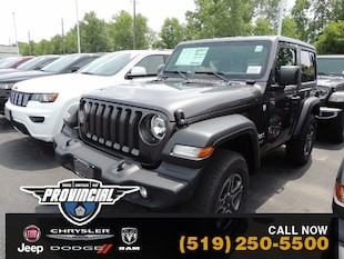 2019 Jeep All-New Wrangler Sport S Windsor Jeep Store With More SUV 1C4GJXAG2KW674456 191192