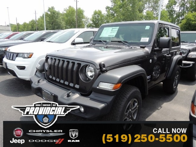 New 2019 Jeep All-New Wrangler Sport S Windsor Jeep Store With More SUV 1C4GJXAG2KW674456 191192 in Windsor, Ontario near LaSalle
