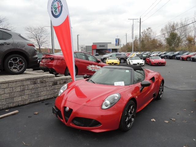 ... New 2017 Alfa Romeo 4C Spider Sport Coupe Convertible ZARBAAB43HM241895  Dealer In Windsor, ...