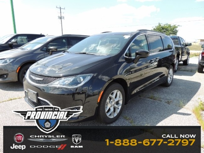 New 2019 Chrysler Pacifica Touring Plus Van 2C4RC1FG0KR644566 190598 in Windsor, Ontario near LaSalle