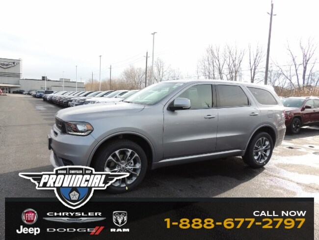 New 2019 Dodge Durango GT SUV 1C4RDJDG8KC633906 dealer in Windsor, Ontario - inventory