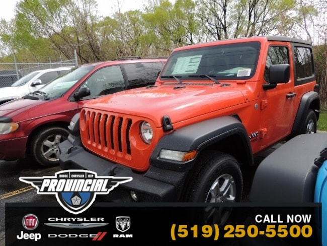 New 2019 Jeep All-New Wrangler Sport S SUV 1C4GJXAG3KW638212 190891 in Windsor, Ontario near LaSalle