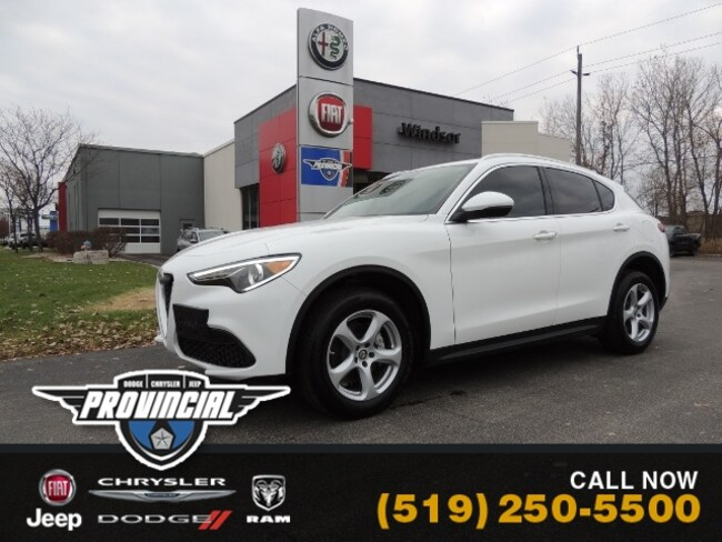 Used 2018 Alfa Romeo Stelvio Base SUV in Windsor, Ontario