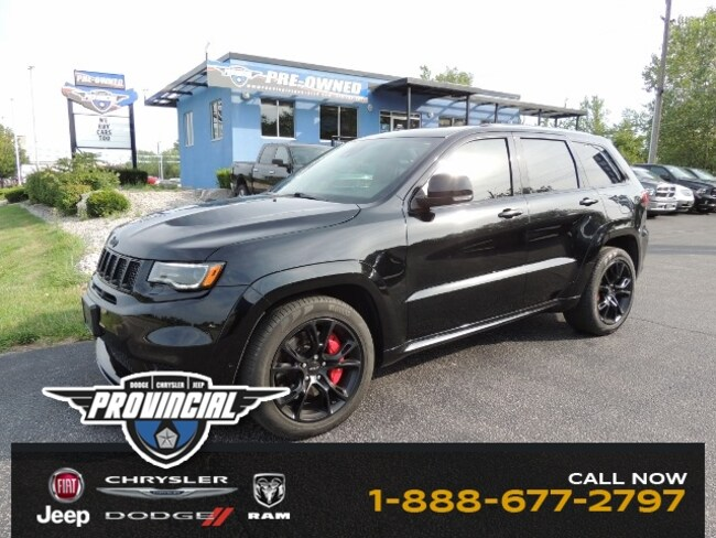 Used 2017 Jeep Grand Cherokee SRT SUV in Windsor, Ontario